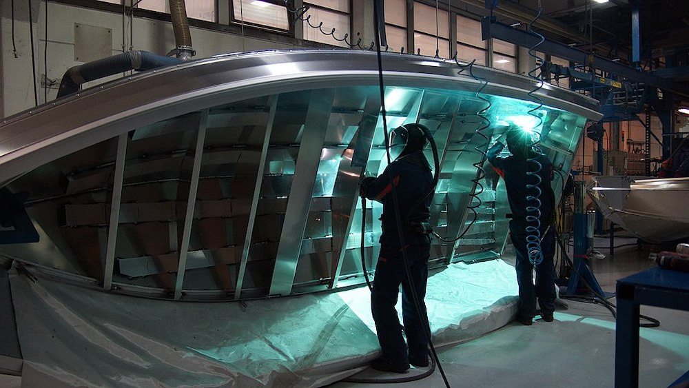 aluminium boat welding and HSE inspections
