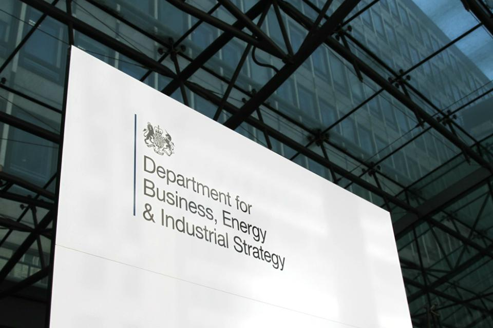 BEIS  Department for Business, Energy and Industrial Strategy