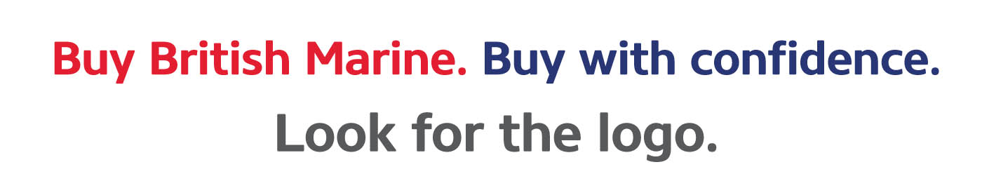 Buy British Marine. Buy with confidence. Look for the Logo.