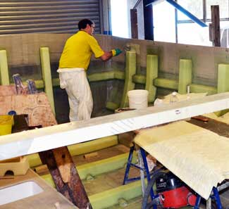 Boatbuilding at Seaward on the Isle of Wight