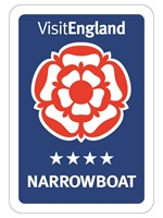 Visit England 4* Narrowboat