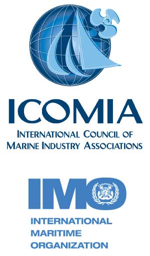 ICOMIA and the IMO logos