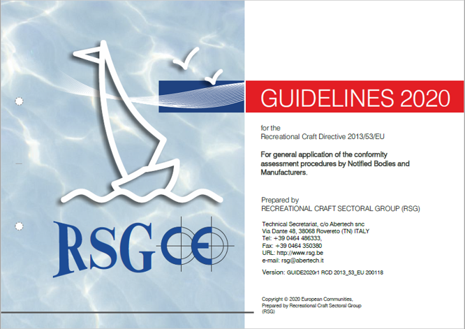 RSG guidelines 2020