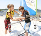 Leisure Boating Kids