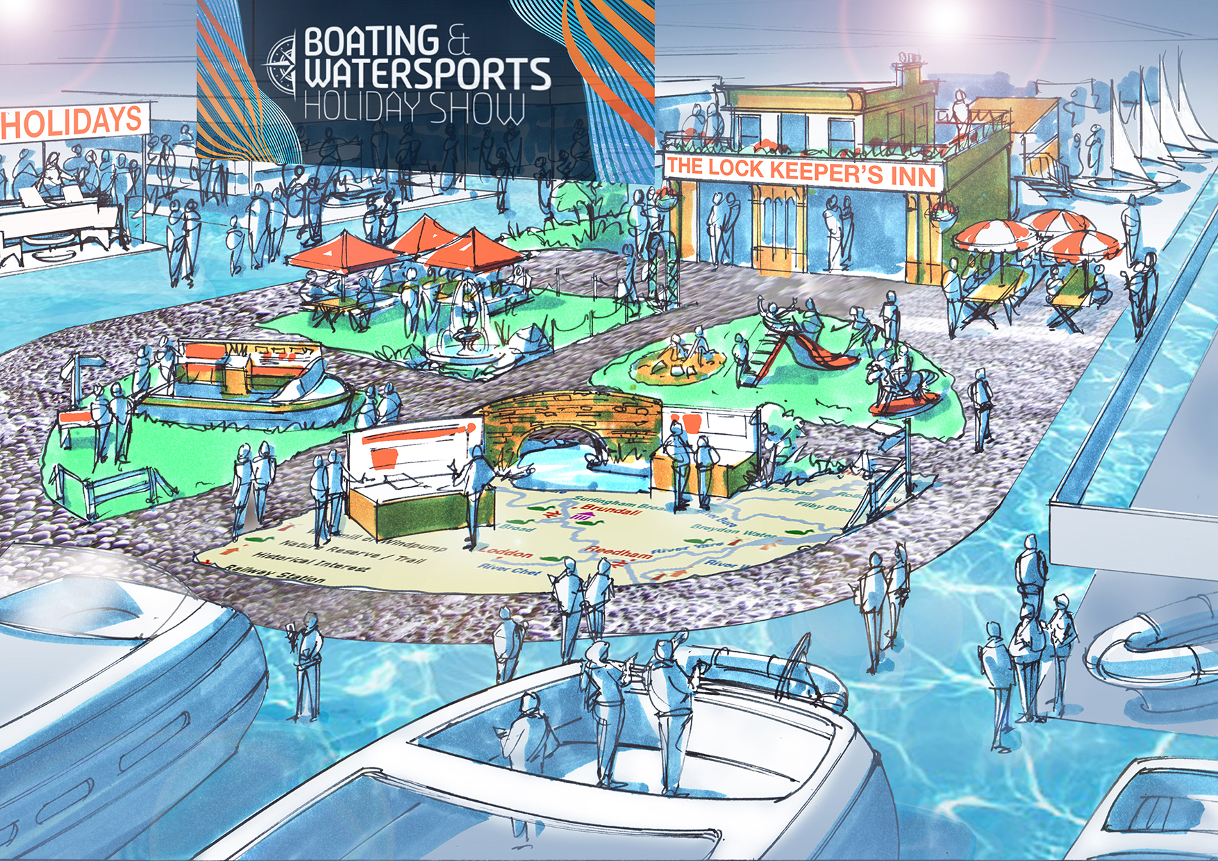 First attraction announced for new Boating and Watersports Holiday Show
