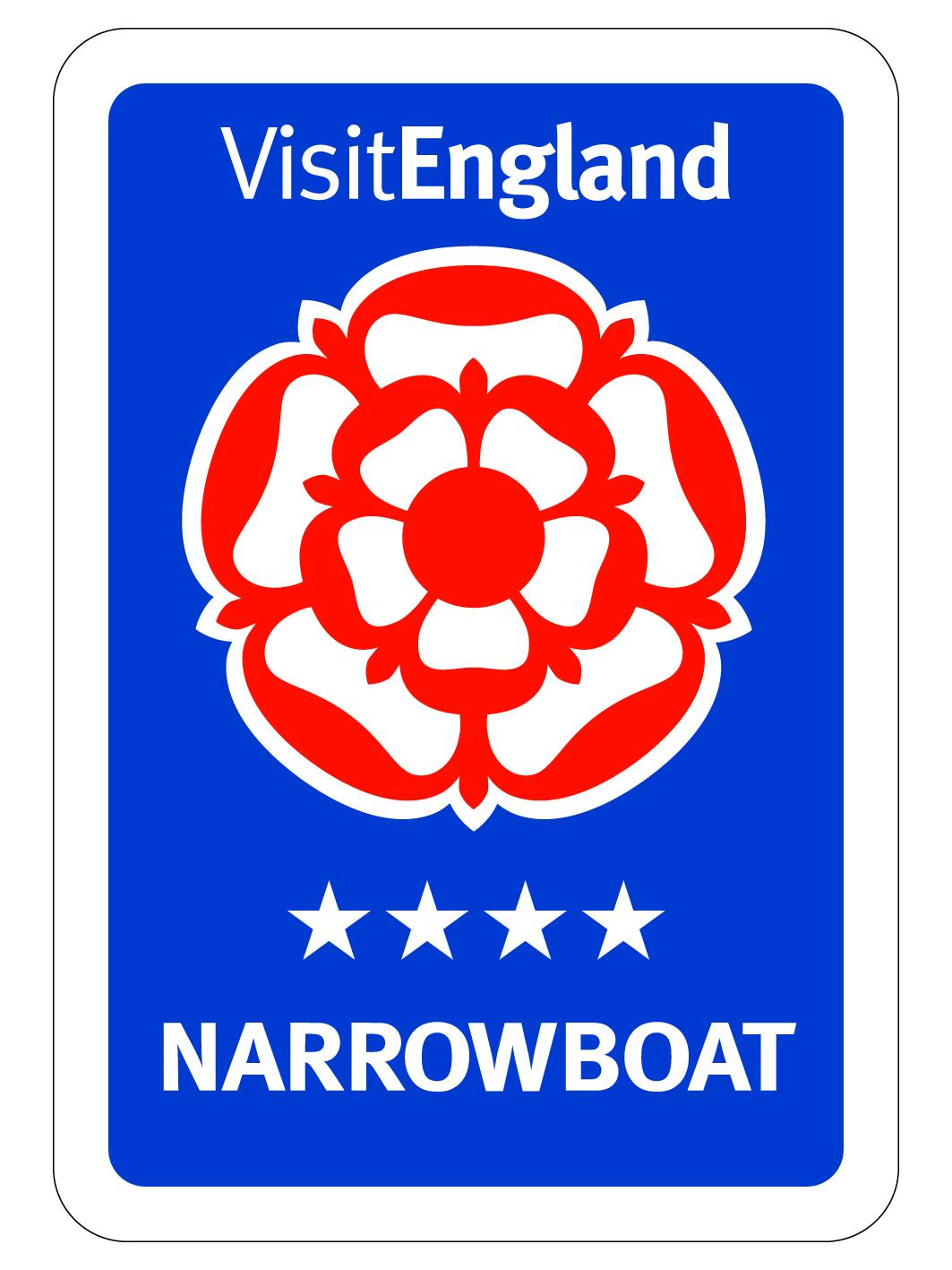 Visit England 4* Narrowboat