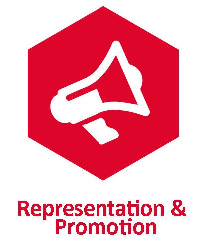Representation & Promotion