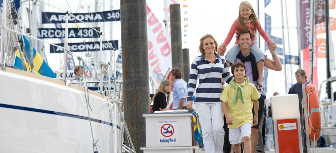 Family activities at the Southampton Boat Show