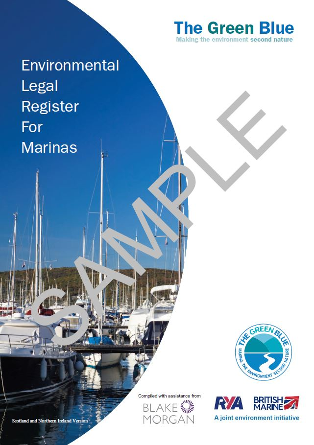 Environmental Legal Register for Marinas